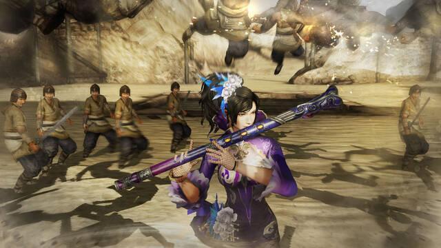 Dynasty Warriors 8 sigue mostrándose en nuevas imágenes