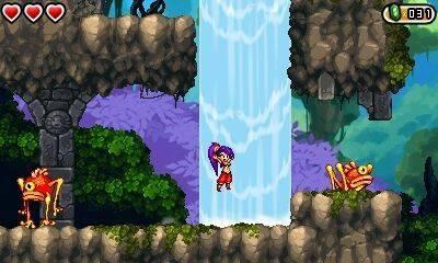 La edición física de Shantae and the Pirate's Curse para Nintendo 3DS llegará mañana a España