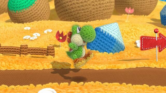 Tráiler de lanzamiento de Yoshi's Woolly World