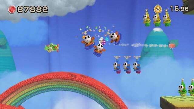Yoshi's Woolly World se muestra en nuevas imágenes