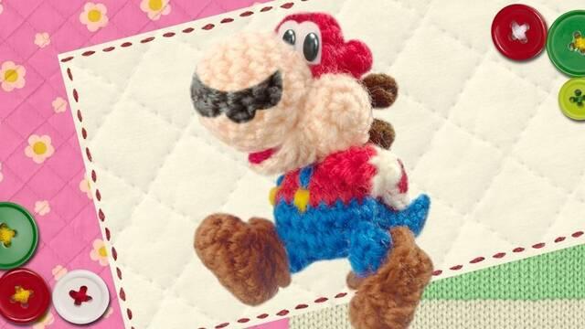 Los amiibos desbloquearán trajes en Yoshi's Woolly World