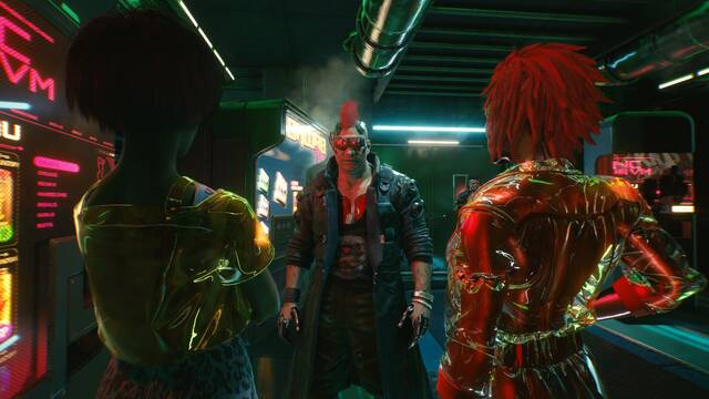 Cyberpunk 2077 editor de personajes personalización