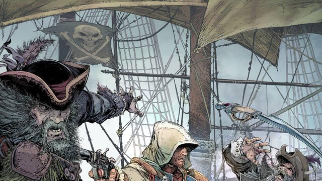 Todd McFarlane muestra cómo hizo el póster de Assassin's Creed IV: Black Flag