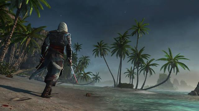 Tardan 5 horas en recorrer a nado el mapa de Assassin's Creed IV: Black Flag