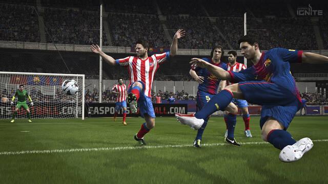 FIFA 14 muestra nuevas imágenes de sus versiones de nueva generación