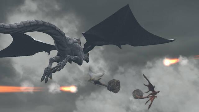 Drakengard 3 muestra sus combates aéreos