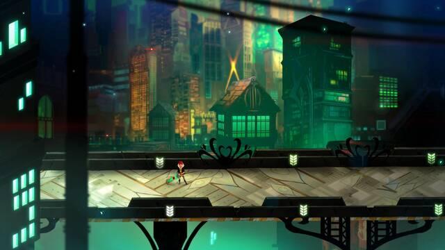 Transistor representará la espada de juego con la luz del DualShock 4