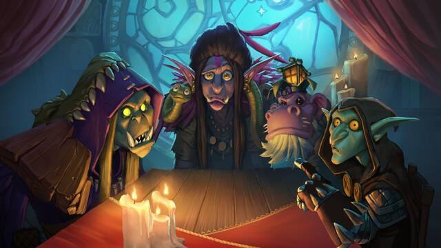 Hearthstone nos invita a ser malos en la expansión 'El Auge de las Sombras'