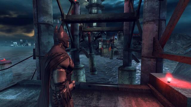 Batman: Arkham Origins Blackgate de PS Vita se muestra en nuevas capturas