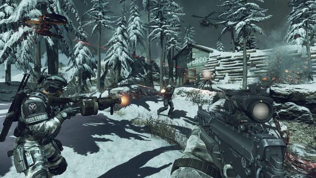 Nuevas imágenes del modo multijugador de Call of Duty: Ghosts