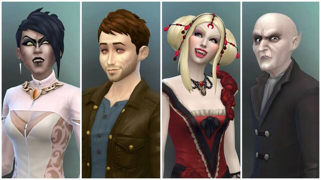 Los vampiros llegan el 24 de enero a Los Sims 4