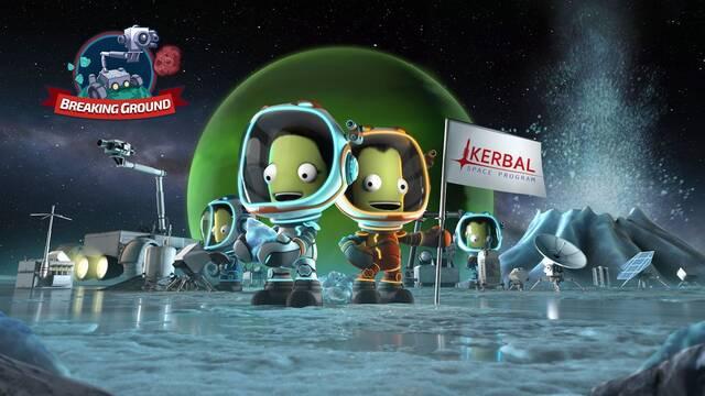 Breaking Ground, nueva expansión de Kerbal Space Program, llega el 30 de mayo