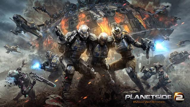 PlanetSide 2 no requerirá PlayStation Plus en PS4