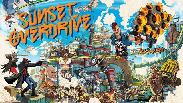 Sunset Overdrive tuvo 'originalmente' una mecánica tipo Fortnite