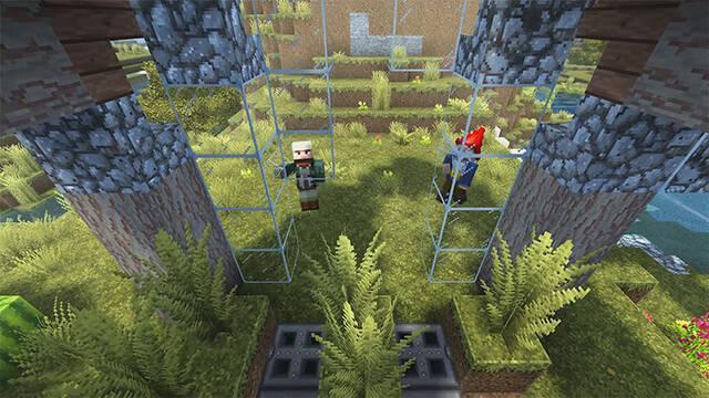 Microsoft quiere potenciar más el juego cruzado de Minecraft