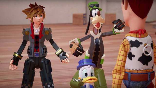 Toy Story estará presente en el mundo de Kingdom Hearts 3; sale en 2018