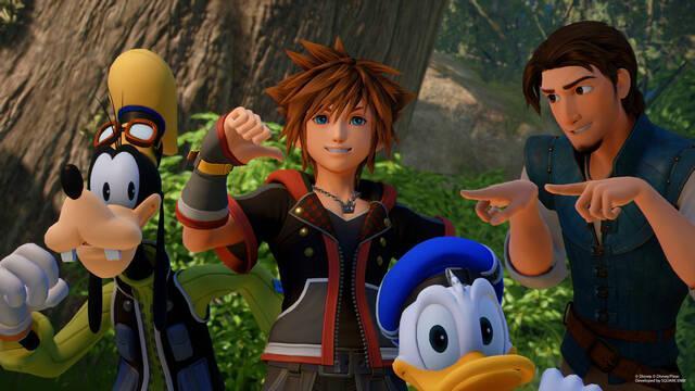 Kingdom Hearts III es el mejor lanzamiento de la saga en Reino Unido