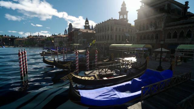 Final Fantasy XV muestra la ciudad Altissia en vídeo