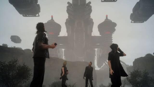Final Fantasy XV se muestra en la conferencia de Microsoft