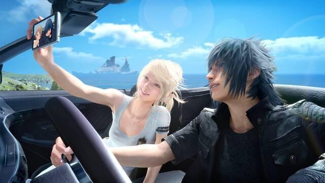 Así celebran San Valentín los protagonistas de Final Fantasy XV