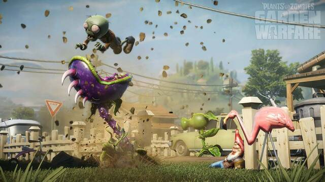 Plants vs. Zombies: Garden Warfare estará en la Gamescom
