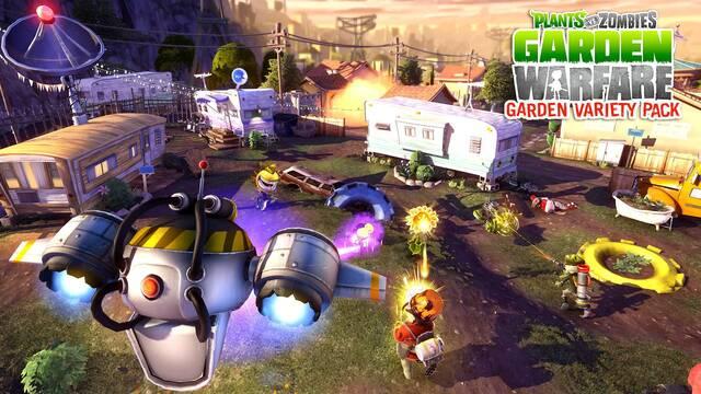 Mañana llega el primer contenido descargable de Plants vs. Zombies: Garden Warfare