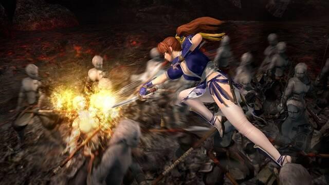 Kasumi se muestra en Warriors Orochi 3 Ultimate