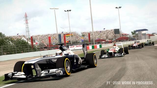 Nuevas imágenes de F1 2013