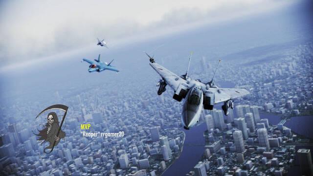 Project Aces juega a Ace Combat: Infinity en un nuevo vídeo