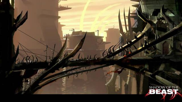 Nuevas ilustraciones de Shadow of the Beast