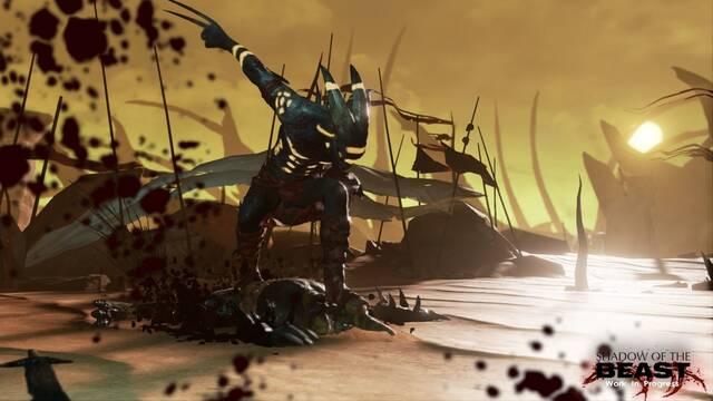 Primeras imágenes y gameplay comentado de Shadow of the Beast