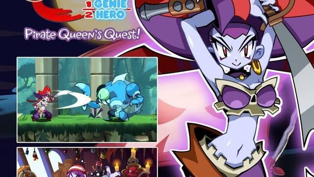 Pirate Queen's Quest llega a Shantae: Half-Genie Hero el 29 de agosto
