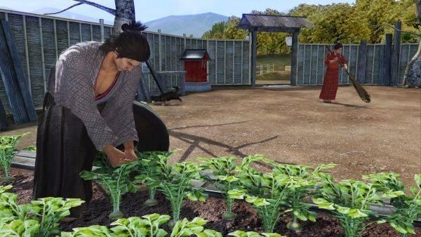 El nuevo vídeo de Yakuza: Ishin muestra el modo de vida cotidiano de Ryoma