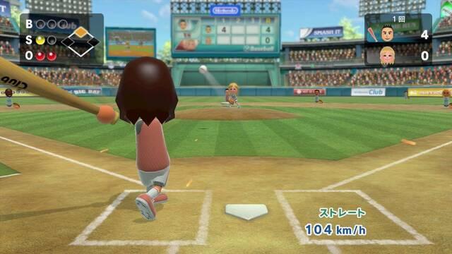 Primeras imágenes de béisbol y boxeo en Wii Sports Club