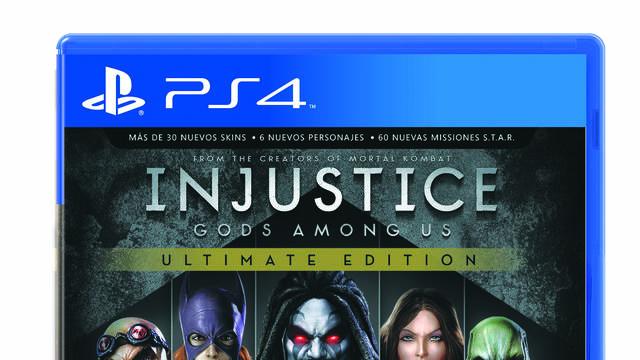 Injustice: Gods Among Us llegará a PS4, PC y PS Vita el mes que viene