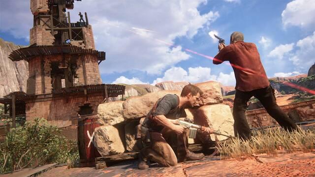 Nathan Drake no recibe daño de balas en Uncharted: se agota su suerte