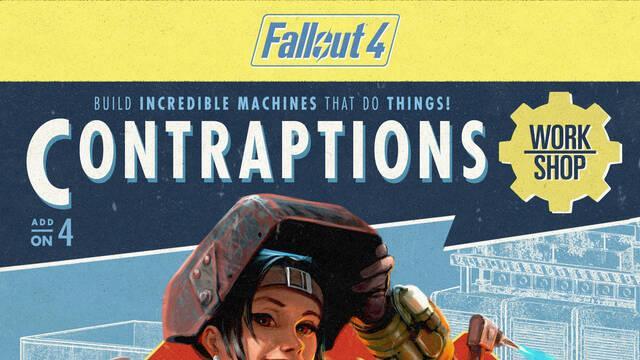 El cuarto contenido descargable par Fallout 4, Contraptions Workshop, está ya disponible