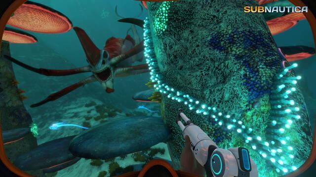 La aventura submarina de Subnautica llegará a PlayStation 4 a finales de año