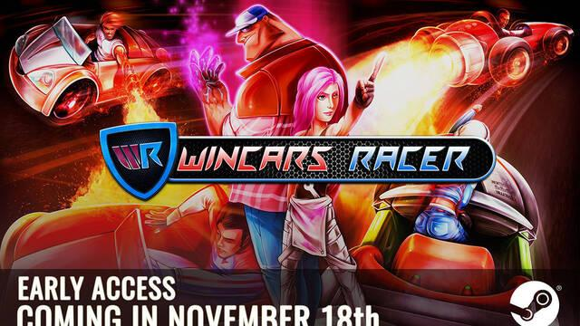 Wincars Racer se estrena este viernes en el Acceso Anticipado de Steam