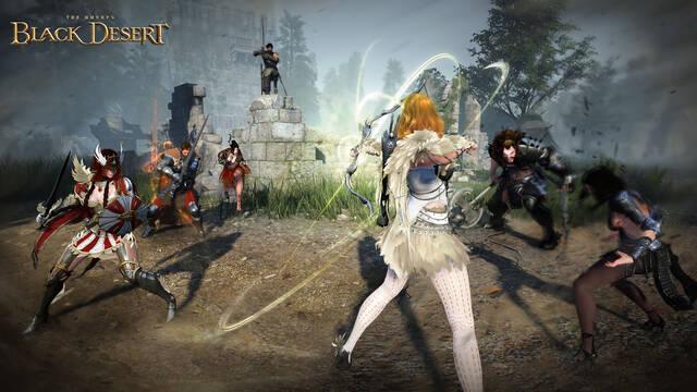 Black Desert Online llegará el 4 de marzo a Xbox One