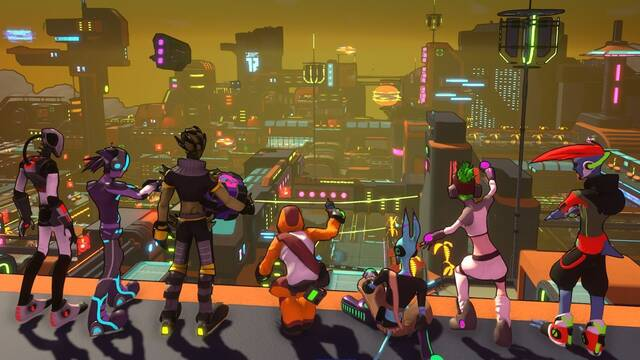 Hover: Revolt of Gamers tendrá juego cruzado entre PC, Xbox One y Switch