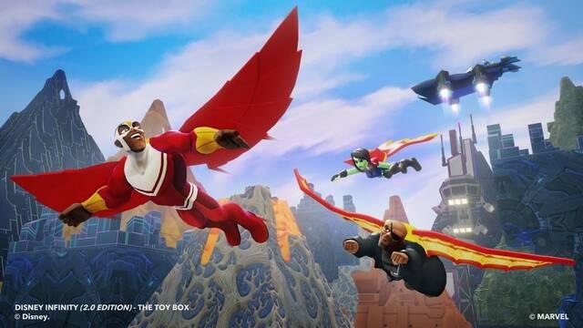 Yondu y Falcon estarán en Disney Infinity 2.0: Marvel Super Heroes