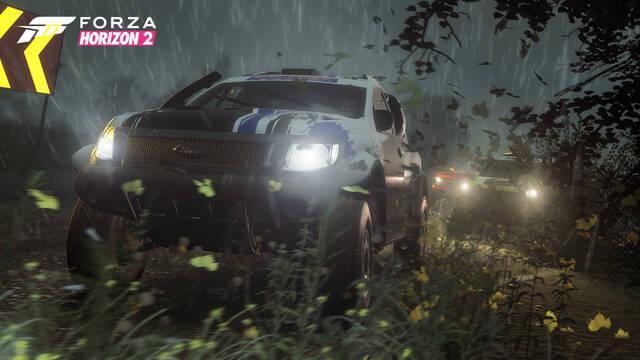 Forza Horizon 2 recibe nuevos coches y clima extremo