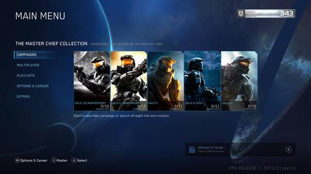 Ya disponible la gran actualización para Halo: The Master Chief Collection