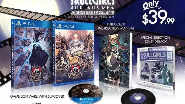 Skullgirls 2nd Encore tendrá edición física