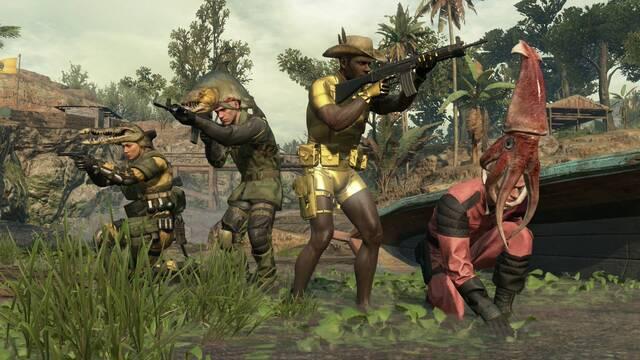 Ya se puede descargar Metal Gear Online