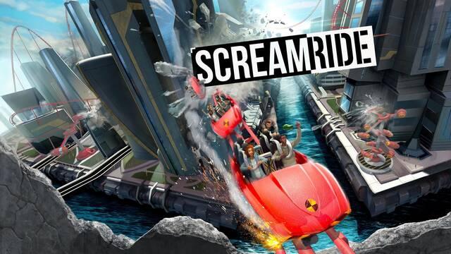 Os mostramos casi 45 minutos comentados de ScreamRide