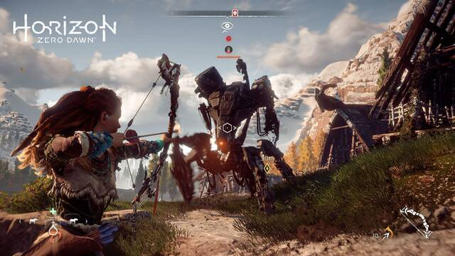 Horizon: Zero Dawn no funcionará a 4K nativos en PlayStation 4 Pro
