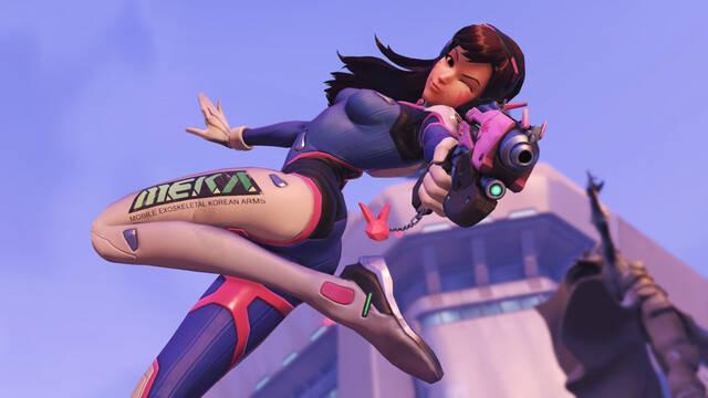 D.Va es la gran protagonista del nuevo corto animado de Overwatch