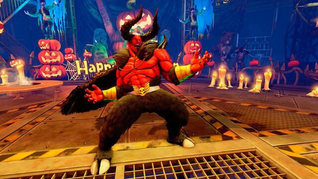 Street Fighter V presenta sus nuevas apariencias y escenario